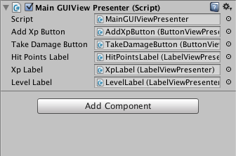 Model View Controller pattern for Unity3D User Interfaces - Social