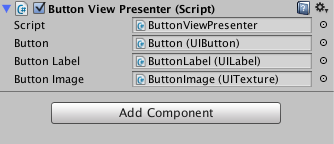 View Presenter in the Unity3D Inspector